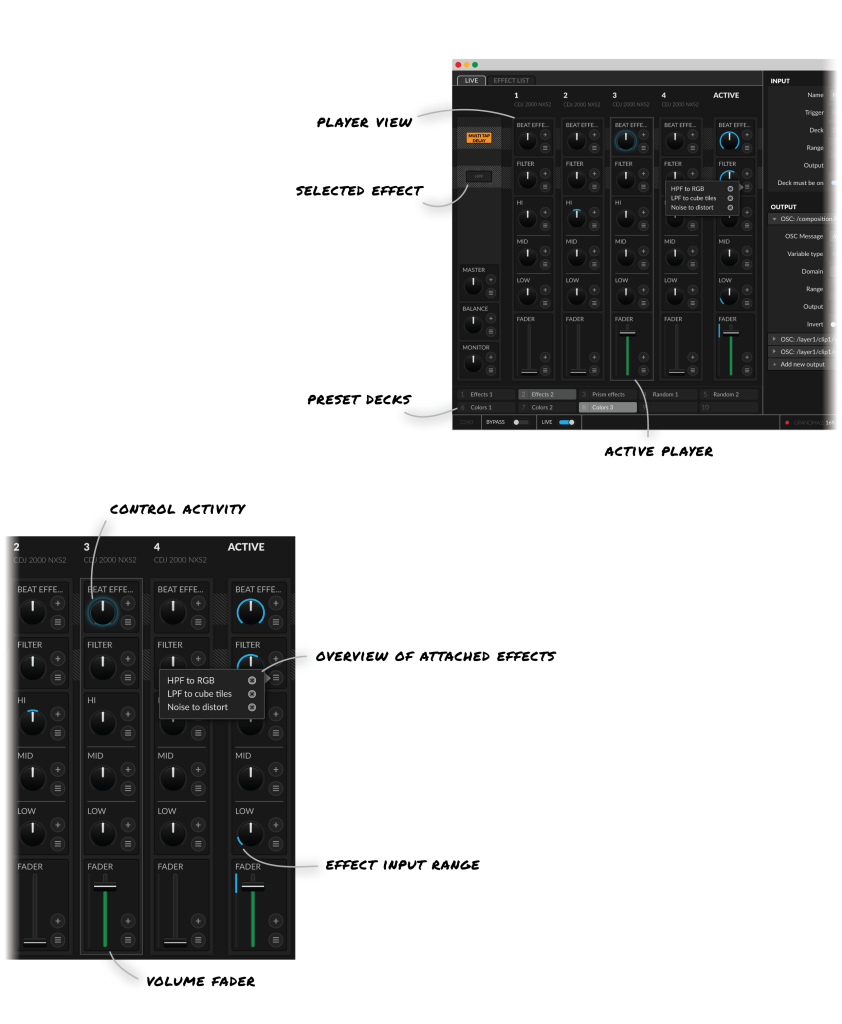 Interface for portfolio-01